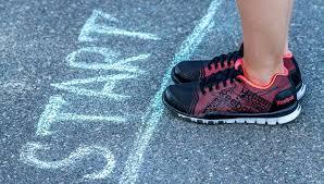new runner start line